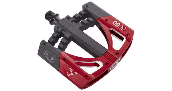 Crankbrothers 5050 3 Pedal schwarz/rot